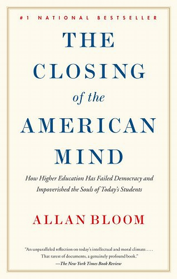 the closing of the american mind thesis Essays on the closing of the american mind [robert l stone] on amazoncom free shipping on qualifying offers essays discuss various aspects of bloom's book.