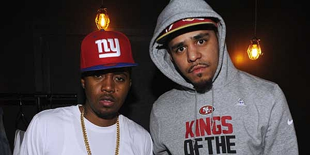 """Nas drops guest verse on J. Cole's """"Let Nas Down"""" (Born Sinner) MP3"""